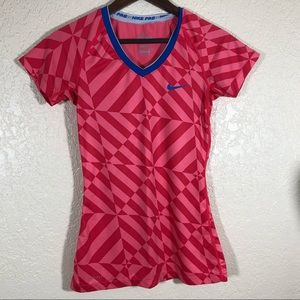 NIKE PRO Dri-Fit fitted soccer jersey shirt